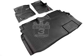 Lund Rubber Floor Mats by 2009 2014 F150 Supercab Weathertech Front U0026 Rear Digital Fit
