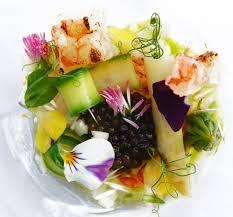 raffiniert wildgarnelen imparialkaviar spargel rezept