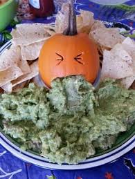 Pumpkin Guacamole Throw Up Cheese by Extreme Halloween Pumpkins Holidays Halloween Ideas And