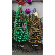 Super New Fiber Optic Multi Color Christmas Tree 6ft