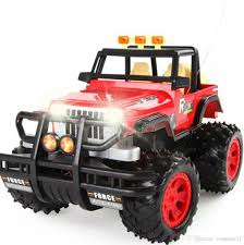 100 Dc Toy Trucks Fall Proof Distribution Battery Chargeable For Off Road ChildrenS