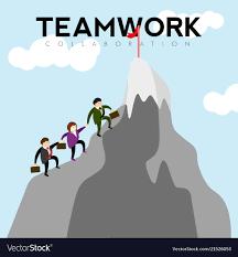 100 Mountain Design Group Of Businessmen Climbing A Mountain