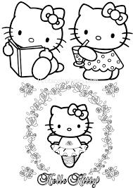 Hello Kitty 185 Dessins Animés Coloriages À Imprimer Dedans