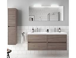 badezimmer badmöbel 140 cm aus eiche eternity holz mit mineralguss waschtisch zubehör standard abmessungen 140 cm
