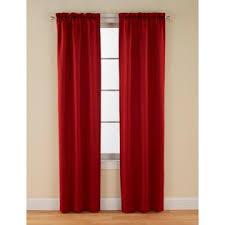 logan room darkening brick panel pair 2 brick red curtains from kmart