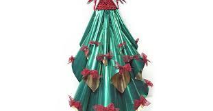 Simple Foil Christmas Tree Decoration