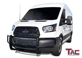 Amazon.com: TAC Custom Fit 2015-2019 Ford Transit Van (Full Size ... Bumper Guard Frontrear Iso9001 High Quality Stainless Steel Grille Guard Ranch Hand Truck Accsories Front Runner Bumper Ss Aobeauty Vanguard Body Accents Automotive Specialty Inc 52017 F150 Fab Fours Premium Winch W Full Jeep Renegade Guards Kevinsoffroadcom Overland Vengeance No 72018 Ford Super Guard Thumper Ultimate Shock Absorbing Fxible Sprinter Van Exguard Parts And Service Dee Zee Free Shipping Price Match Guarantee