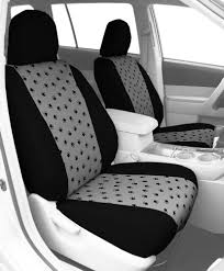 CalTrend - Pet Paw Print Custom Seat Covers | Best Custom Fit Paw ...