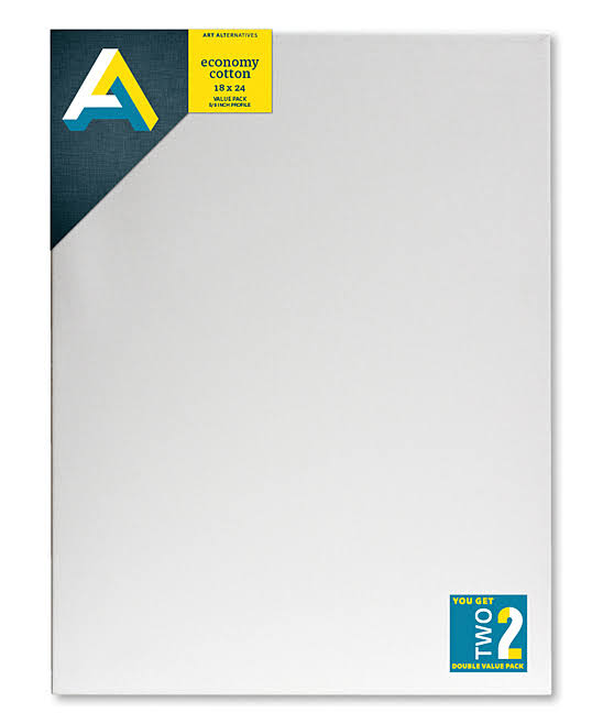 Art Alternatives Canvas Value Pack - 18inch x 24inch