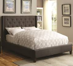 Coaster Upholstered Beds Upholstered King Bed with Tall Tufted