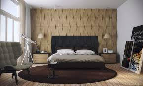 Dimensional Panels Highlight This Bedroom Wall