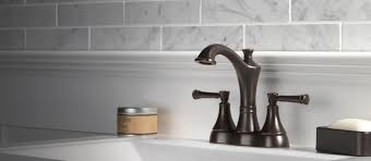 Delta Bronze Bath Faucet by Valdosta Bathroom Collection