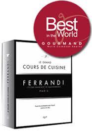 ecole cuisine de cooking book grand cours de cuisine ferrandi