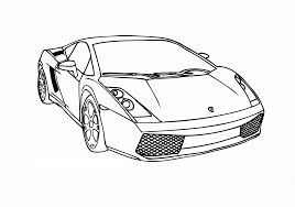 Free Printable Car Coloring Pages Race For Kids Image