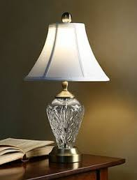 Waterford Lamp Shades Table Lamps by Reduced Price Large Vintage Waterford Lamps 37