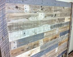 Reclaimed Wood Headboard Barn Pallet Furniture And Queen