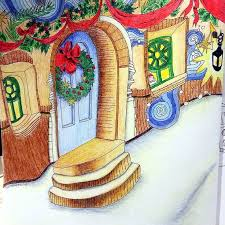 Themagicalchristmas Lizziemarycullen Coloringforadults Magical ChristmasChristmas IdeasAdult ColoringColoring BooksColouringPencilPictures