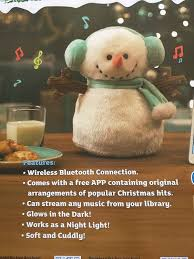 Shopko Christmas Tree Lights by Amazon Com Light Up Plush Christmas Snowman Bluetooth Speaker