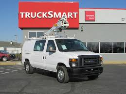2010 FORD E350 SUPER DUTY BUCKET BOOM TRUCK FOR SALE #606867