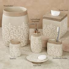Bella Lux Mirror Rhinestone Bathroom Accessories by Rhinestone Diamond Bath Accessory Set Quilted Cushion White