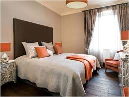Perfect Brown And Orange Bedroom Ideas Intended For