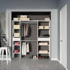 Closet Wondrous Mdf Closet For Bedroom Organizer Design