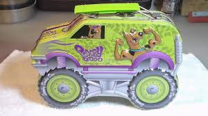 SCOOBY DOO MONSTER Truck Collector Tin Lunch Candy Box 8