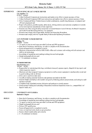 Related Job Titles Driver Resume Sample