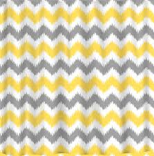 Yellow And Gray Bathroom Decor by Blue Chevron Curtains Baby Nursery Room With Chevron