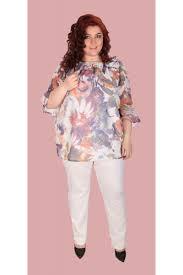 leg white trousers plus size sirena plus online shop