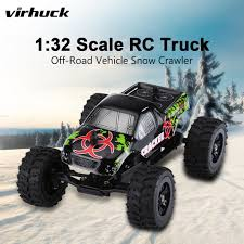 100 Electric Mini Truck Virhuck 132 Scale Remote Control OffRoad Car RC Rc