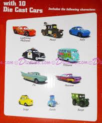 "DIZDUDE.com | Disney Pixar ""Cars"" Mack Truck Hauler With 10 Die Cast ..."
