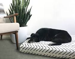 Pottery Barn Dog Bed by Dog Bed Etsy