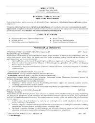 Business Analyst Resume Sample Lead