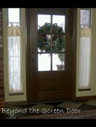 Sidelight Curtain Rods Tension by Sidelight Window Treatments Sidelights On Pinterest Front Doors