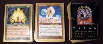 mtg world chionship decks 1997 1997 magic the gathering world chionship deck crazedpixel