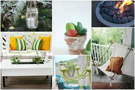 decoration a faire soi meme décoration terrasse 9 idées pour le printemps et l été