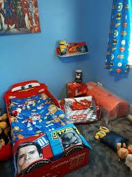 Lighting Mcqueen Toddler Bed by Lightning Mcqueen Toddler Bed Bedside Cabinet Shelf U0026 Blow Up