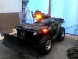 ATV LED strobes for plowing