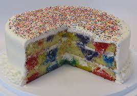 Polka Dot Cookie Cake