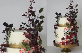 Wildflower Wedding Cake By Happy Hills Design