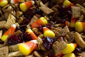 Pumpkin Spice Chex Mix With Candy Corn by Pumpkin Spice Chex Mix Recipe With Candy Corn
