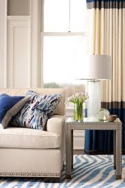 gray end table transitional living room muse interiors