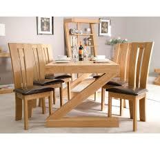 Solid Oak Large Dining Table Z Range