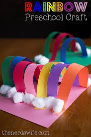 Rainbow Preschool Craft With Elmers Early Learners