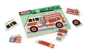 Melissa & Doug Fire Truck Sound Puzzle - Wooden Peg Puzzle With ... Sound Puzzles Upc 0072076814 Mickey Fire Truck Station Set Upcitemdbcom Kelebihan Melissa Doug Around The Puzzle 736 On Sale And Trucks Ages Etsy 9 Pieces Multi 772003438 Chunky By 3721 Youtube Vehicles Soar Life Products Jigsaw In A Box Pinterest Small Knob Engine Single Replacement Piece Wooden Vehicle Around The Fire Station Sound Puzzle Fdny Shop