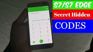 Samsung Galaxy S7 S7 Edge Secret Hidden Codes Tips & Tricks