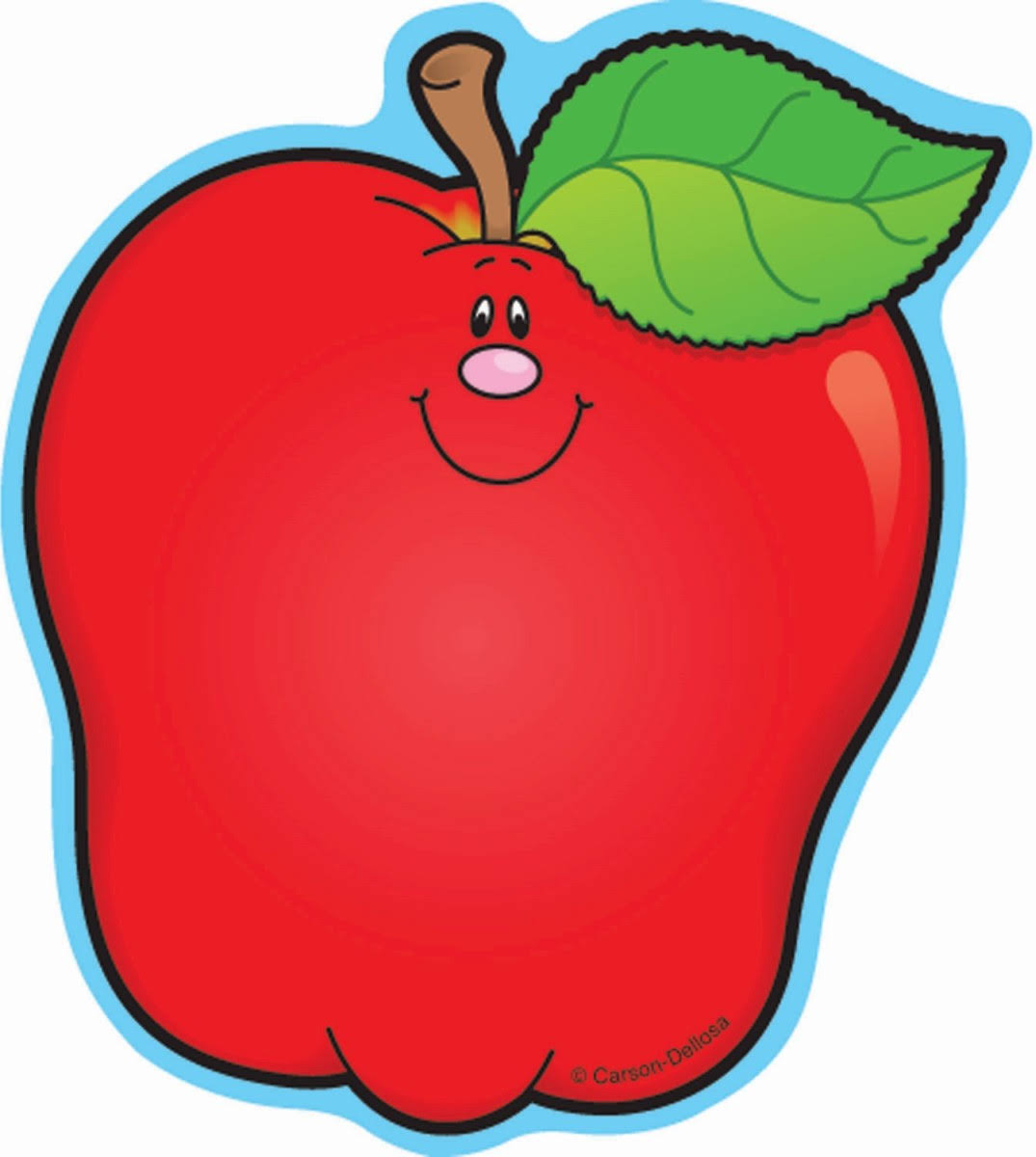 Carson-Dellosa Publishing Apples Mini Cut-Outs