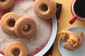 Dunkin Donuts Pumpkin Donut Calories by Pumpkin Cake Doughnuts Recipe King Arthur Flour
