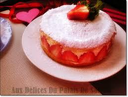 dessert aux fraises le fraisier gâteau aux fraises aux delices du palais